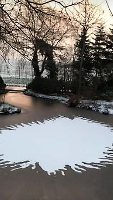 hart van sneeuw